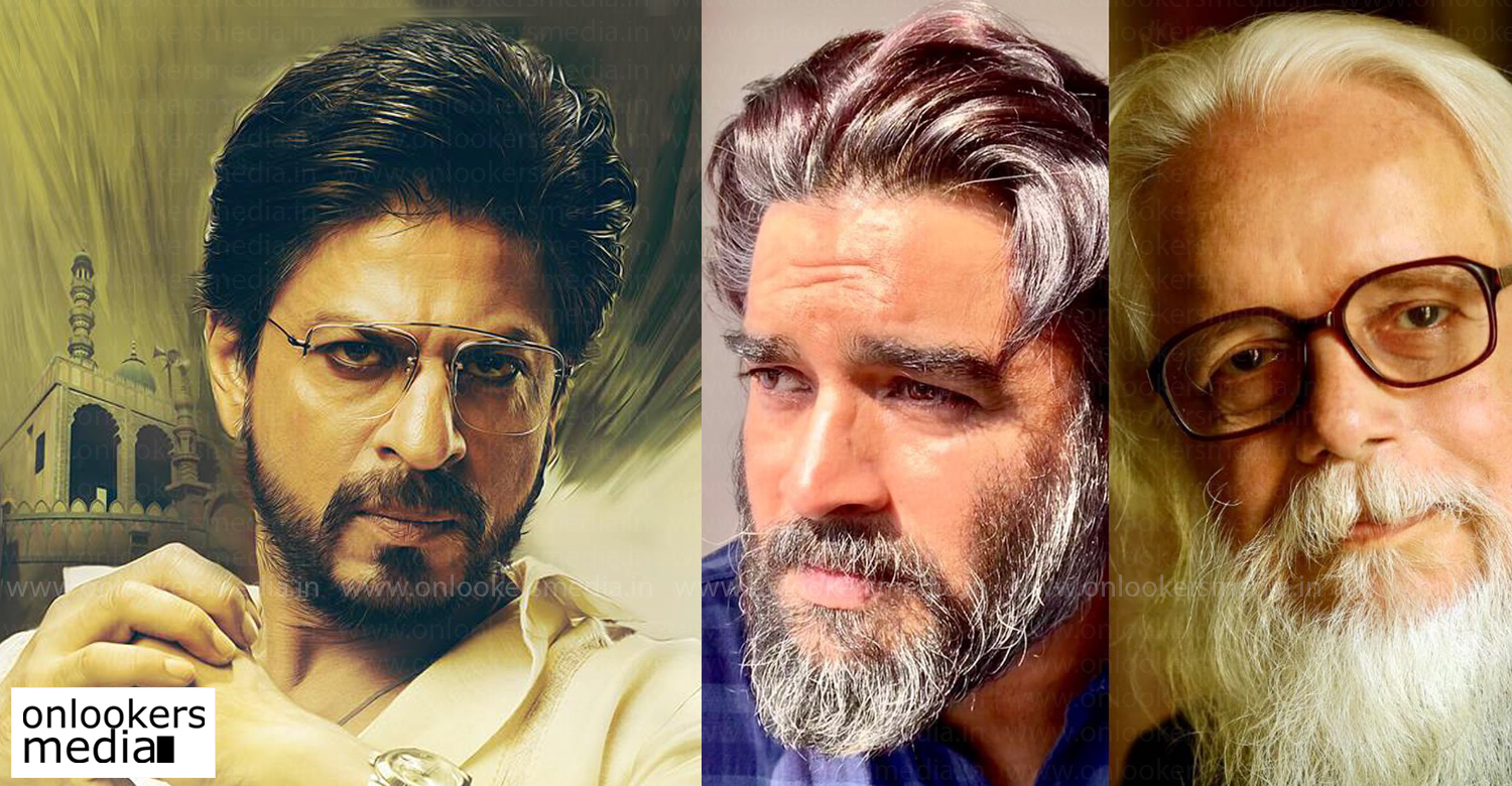 Rocketry - The Nambi Effect,shah rukh khan,actor madhavan,shah rukh khan,shah rukh khan in Rocketry The Nambi Effect,shah rukh khan as journalist,bollywood film news,actor shah rukh khan's film news,shah rukh khan cameo role movies,nambi narayanan's biopic film