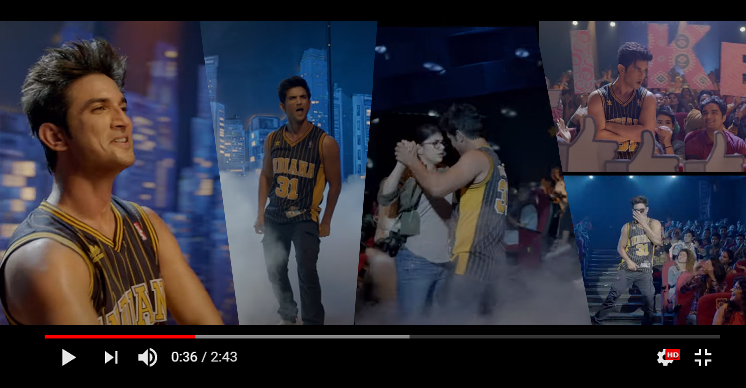 Sushant Singh Rajput Dil Bechara title track