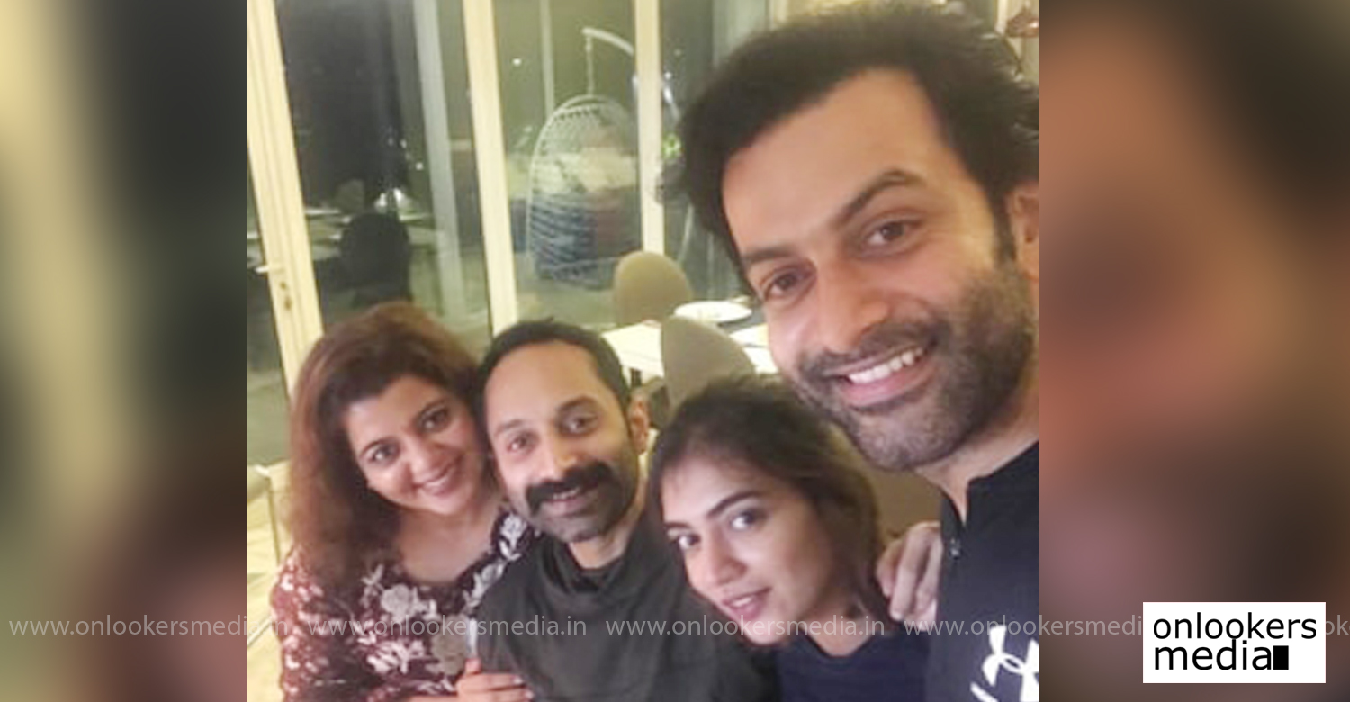 prithviraj sukumaran,fahadh faasil,malayalam film actor fahadh faasil birthday,prithviraj fahadh faasil,malayalam cinema,mollywood cinema