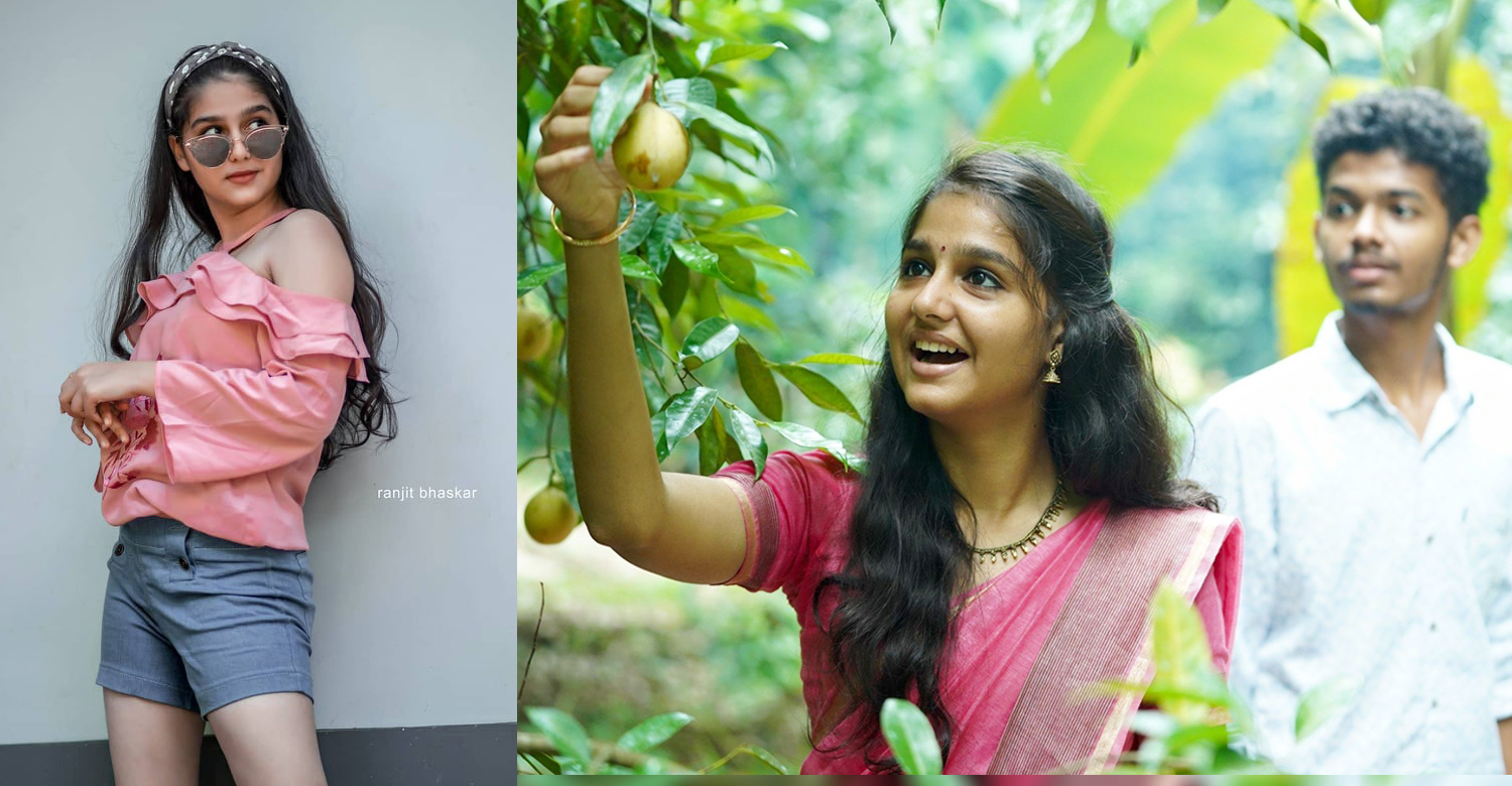 Thanneer Mathan Dinangal,Thanneer Mathan Dinangal actress anaswara rajan,Thanneer Mathan Dinangal fame anaswara rajan,Thanneer Mathan Dinangal remake,actress anaswara rajan latest images,actress anaswara rajan latest photoshoot image,malayalam cinema,mollywood film news