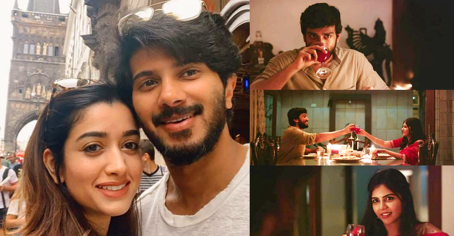 dulquer salmaan wife,dulquer salmaan amaal,amaal salmaan,kalayni priyadarshan,kalidas jayaram,kalyani priyadarshan kalidas jayaram movie reports,Putham Pudhu Kaalai,Putham Pudhu Kaalai celibrities review