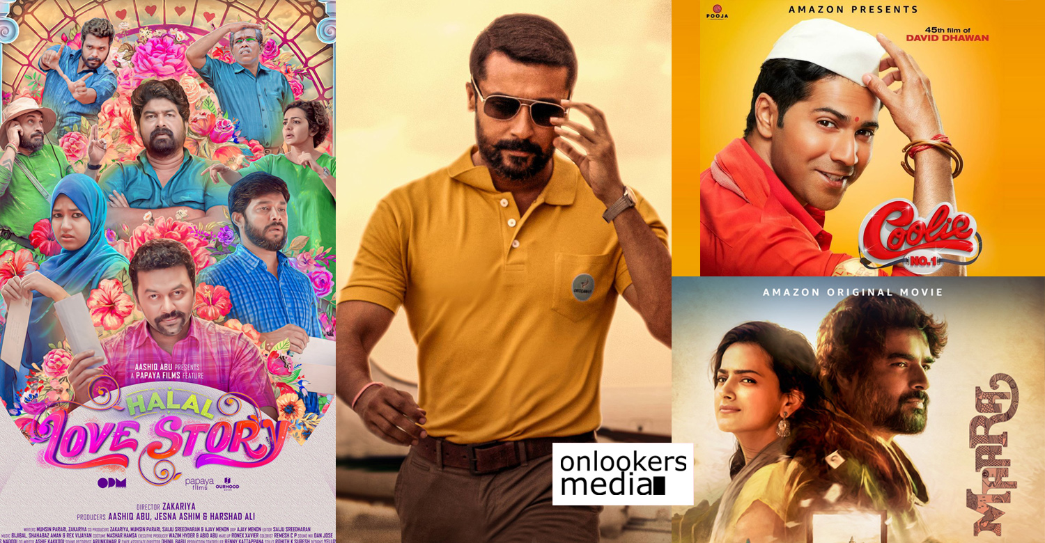 upcoming movies on amazon prime india,new indian movies on amazon prime 2020,Amazon Prime,amazon prime direct release movies,amazon prime direct release indian movies 2020,halal love story,maara,Coolie No 1,Soorarai Pottru