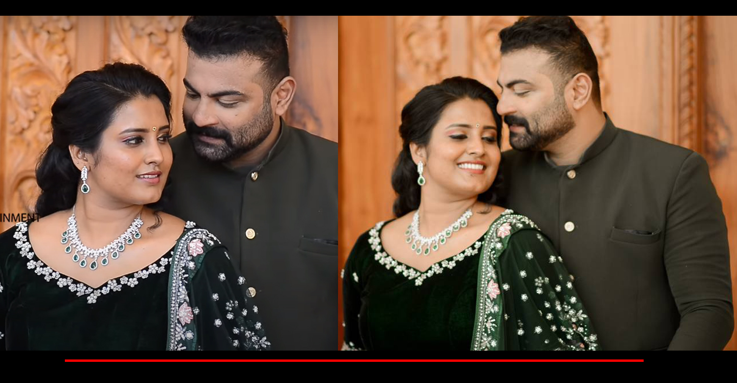 actor Kichu Tellus,Kichu Tellus roshna ann roy engagement video,actress roshna ann roy kichu tellus engagement,malayalam cinema news,actress roshna ann roy engagement