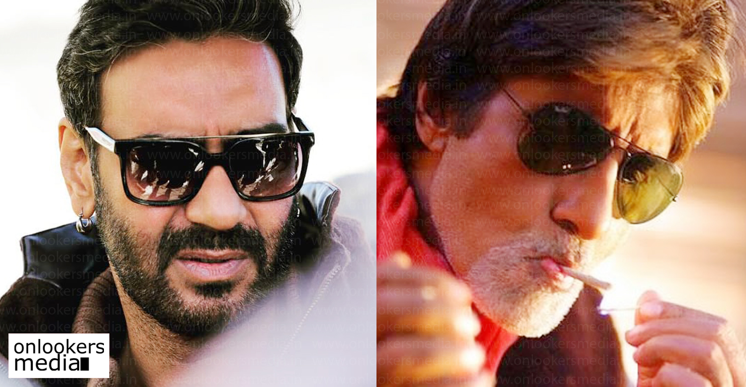 Ajay Devgn,Amitabh Bachchan,May Day,Ajay Devgn new film may day,Ajay Devgn Amitabh Bachchan may day,Ajay Devgn latest news,Ajay Devgn images,Ajay Devgn photos,Ajay Devgn directing new film,Amitabh Bachchan Ajay Devgn new film