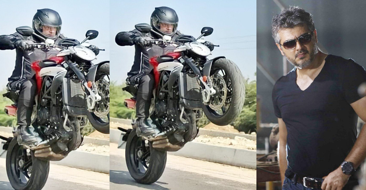 thala ajith latest news,actor ajith latest news,Ajith's bike stunt photo from Valimai location,ajith's bike stunt photo,thala ajith latest bike stunt photo,kollywood,tamil cinema,latest tamil cinema news