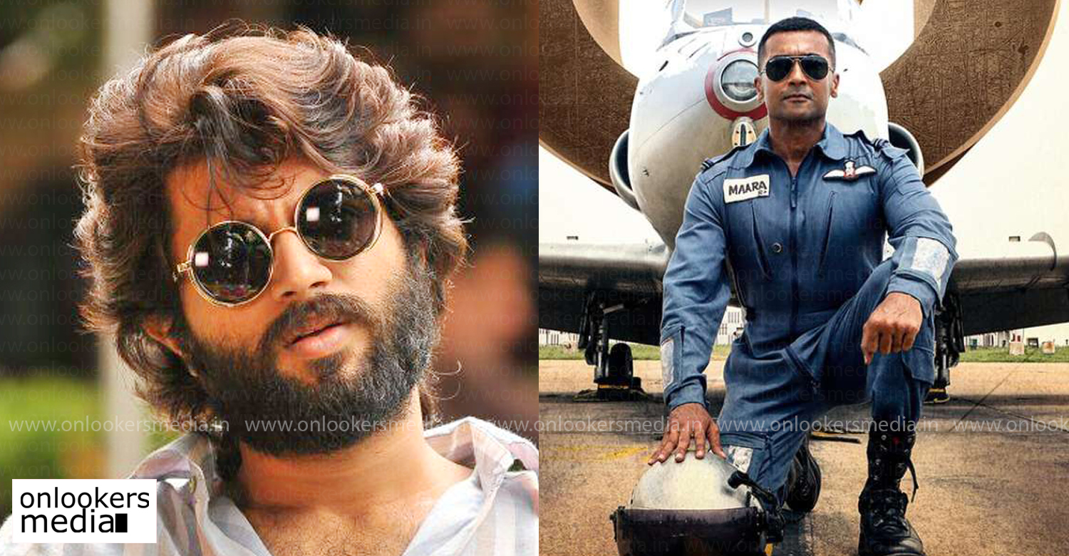 Soorarai Pottru,Soorarai Pottru latest reports,Soorarai Pottru celebrities reviews,Soorarai Pottru celebrities responses,Soorarai Pottru responses,vijay deverakonda,vijay deverakonda tweet about Soorarai Pottru,suriya,sudha kongara,aparna balamurali,suriya latest release