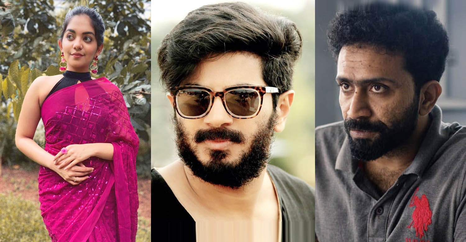dulquer salmaan,dulquer salmaan's next production,shine tom chacko,ahaana krishna,shine tom chacko ahaana krishna movie,malayalam film news,mollywood cinema news
