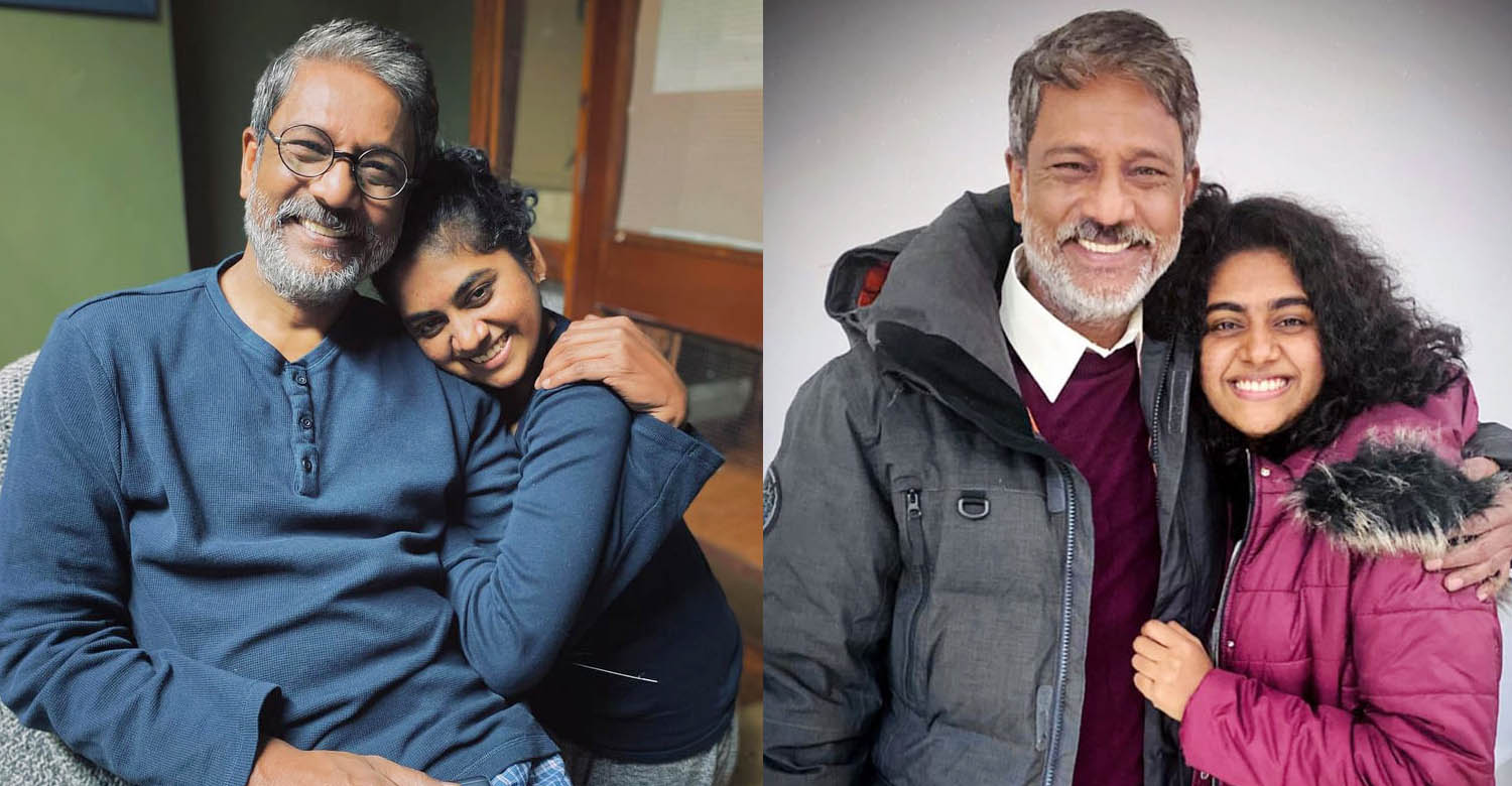 malayalam actress nimisha sajayan,Bollywood actor Adil Hussain,Footprints on Water,British-Indian production film Footprints on Water,nimisha sajayan with bollywood actor adil hussain,nimisha sajayan character Footprints on Water