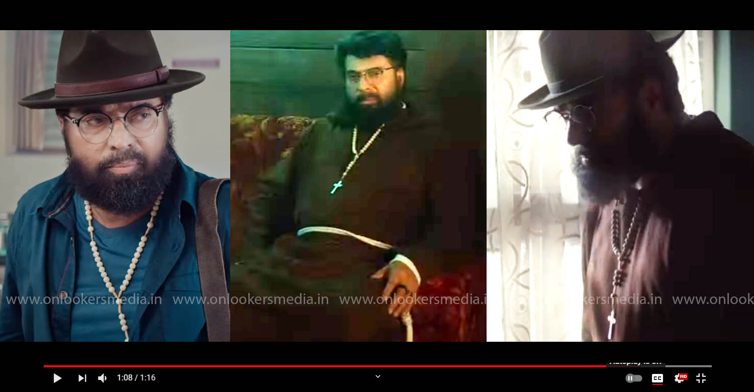 the priest teaser,ammootty in priest movie,mammootty news,mammootty latest news,mammootty film news,manju warrier,mammootty the priest movie,mammootty the priest movie poster,mammootty the priest movie latest updates,malayalam film news,mollywood latest film news