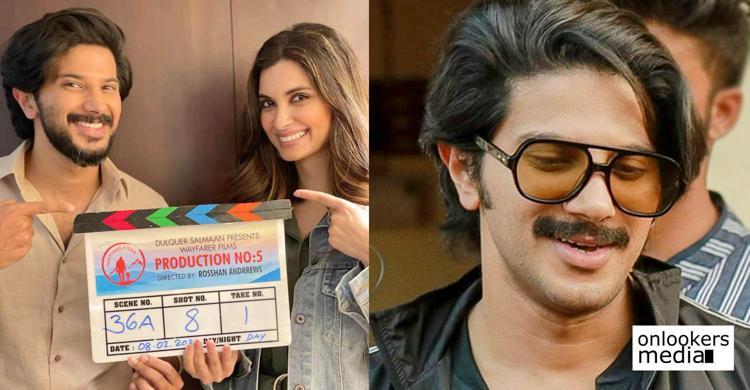 Dulquer Salmaan's new film with Rosshan Andrrews,bollywood actress diana penty,diana penty,diana penty dulquer salmaan,dulquer salmaan rosshan andrrews movie heroine,diana penty malayalam cinema,dulquer salmaan police character movie,rosshan andrrews new film