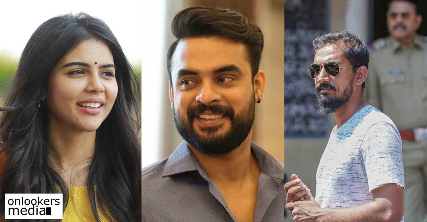 Thallumala movie,Thallumala movie cast,tovino thomas,kalyani priyadarshan,kalyani priyadarshan tovino thomas,khalid rahman,khalid rahman Thallumala movie,tovino thomas latest film news,tovino thomas kalyani priyadarshan in khalid rahman new movie
