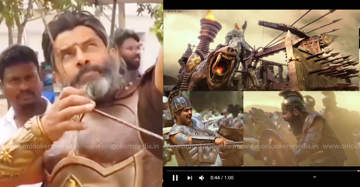 Suryaputra Mahavir Karna,director rs vimal,Kurukshetra battle sequence,Suryaputra Mahavir Karna upcoming film,rs vimal Suryaputra Mahavir Karna new film,director rs vimal latest news,actor vikram,chiyaan vikram