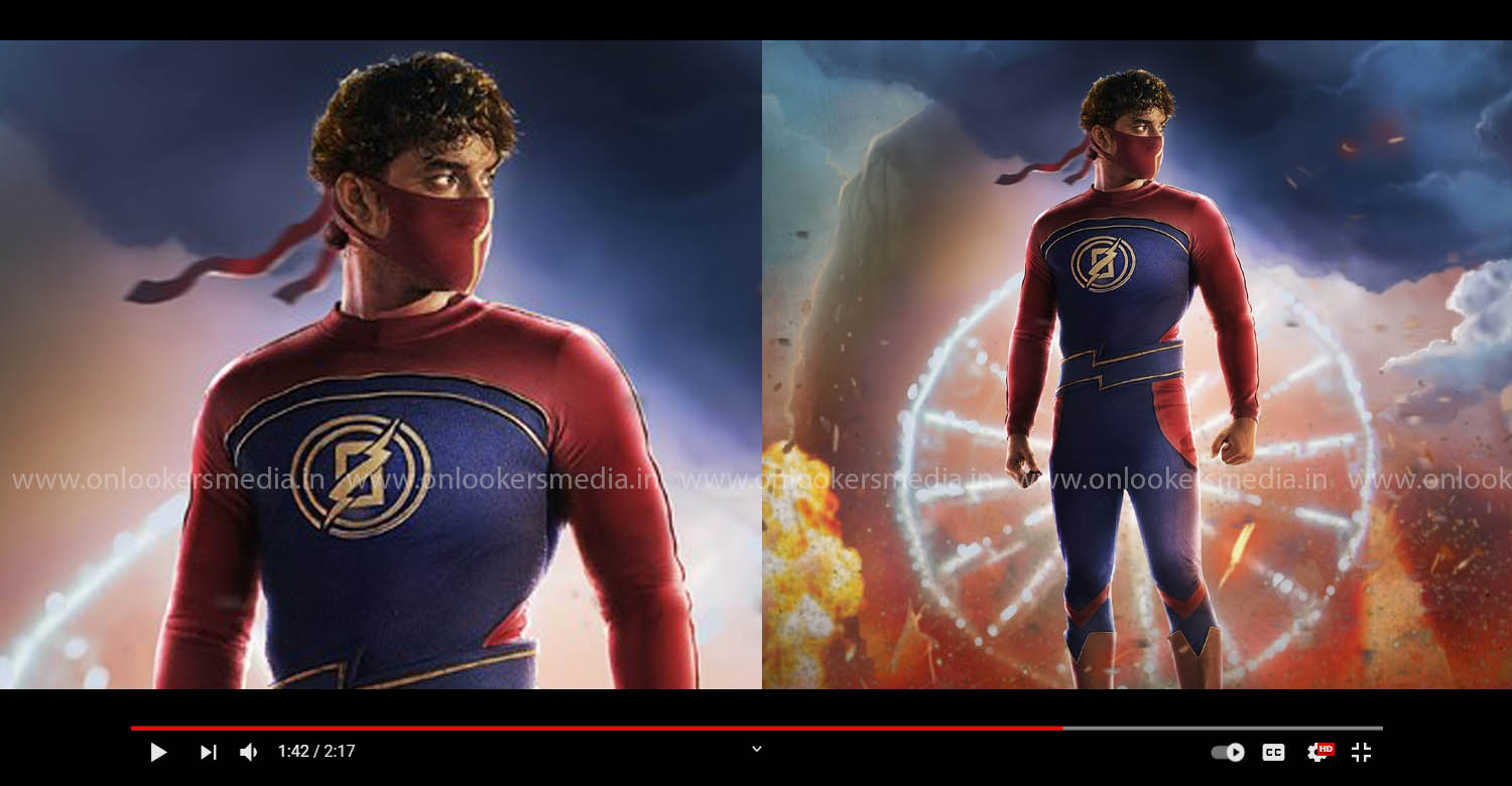 Minnal Murali motion poster,Minnal Murali poster,Minnal Murali tovino thomas image,Minnal Murali movie stills,tovino thomas,tovino thomas new film,latest malayalam cinema,basil joseph,tovino thomas as superhero
