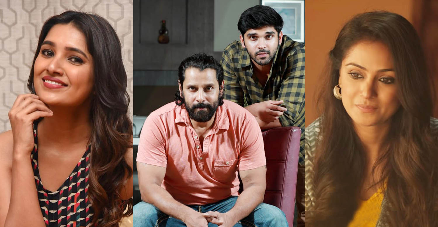 Chiyaan 60 updates,Chiyaan 60 female lead,Chiyaan 60 heroine,Chiyaan 60 cast,chiyaan vikram,vikram latest news,director karthik subbaraj,dhruv vikram,simran,vani bhojan,karthik subbaraj vikram dhruv new film,actress simran latest news,actress simran new film,actress simran in chiyaan 60,actress vani bhojan latest news,vani bhojan images