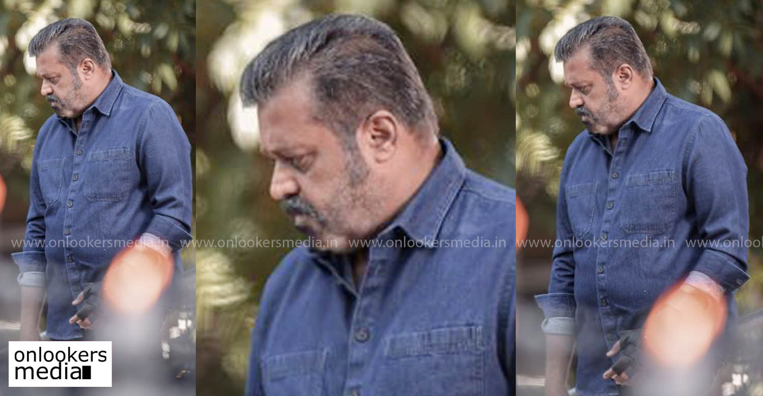 suresh gopi Paappan movie look,suresh gopi latest look,suresh gopi new movie look,suresh gopi Paappan location still,suresh gopi in Paappan movie,suresh gopi latest news,suresh gopi Paappan movie style