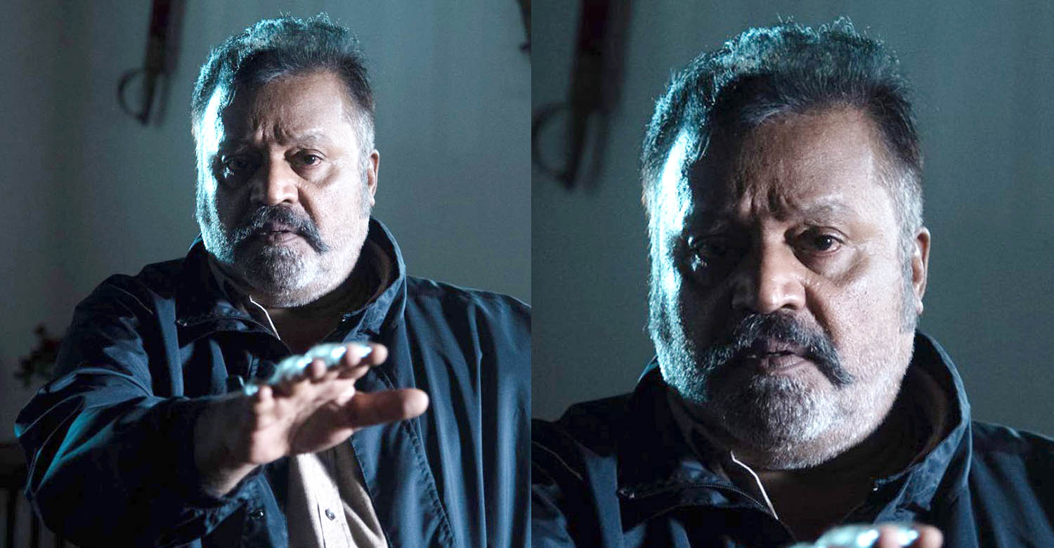 suresh gopi in Paappan,suresh gopi's stills from Paappan,stylish new photos of suresh gopi,suresh gopi new stylish photos Paappan movie,suresh gopi new movie look,malayalam cinema,latest malayalam cinema,suresh gopi new look image,suresh gopi salt and pepper look