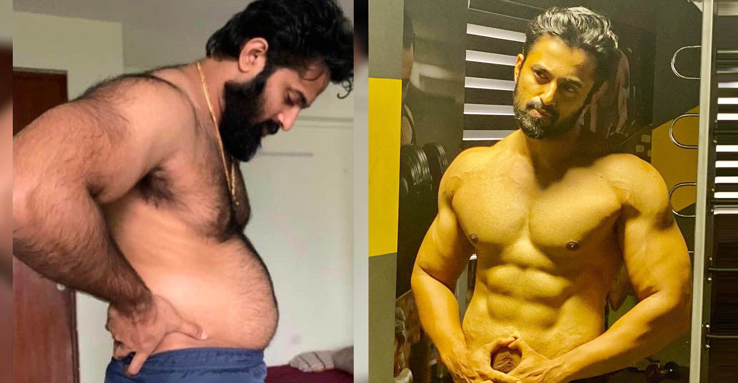 Unni Mukundan physical transformation,3 M Fitness Challenge,unni mukundan workout images,unni mukundan gym,unni mukundan six pack images,malayalam actor,malayalam actor gallery