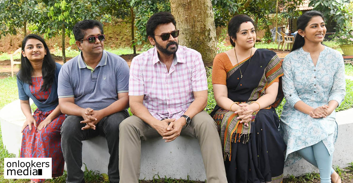 Drishyam 2 Telugu version,Drishyam 2 Telugu,Shoot for the Telugu version drishyam 2,jeethu joseph,Venkatesh,meena,drishyam 2 telugu news