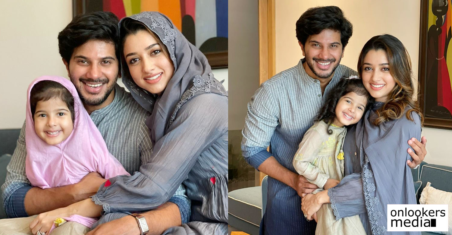 dulquer salmaan with family,dulquer salmaan family photos,dulquer salmaan family,dulquer salmaan eid wishes,dulquer salmaan wife,dulquer salmaan daughter,dulquer salmaan with wife and daughter,dulquer salmaan eid special image,dulquer salmaan family new images,dulquer salmaan latest image