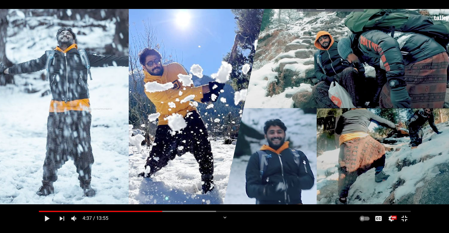 Actor Antony Varghese's Himalayan travel video,Wabi Sabi,Talkysm,antony varghese,travel video,Antony Varghese and team's Himalayan expedition