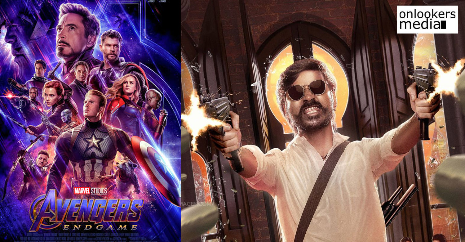Avengers Endgame, directors Russo Brothers, Dhanush,Jagame Thandhiram, Avengers Endgame directors , Dhanush new movies