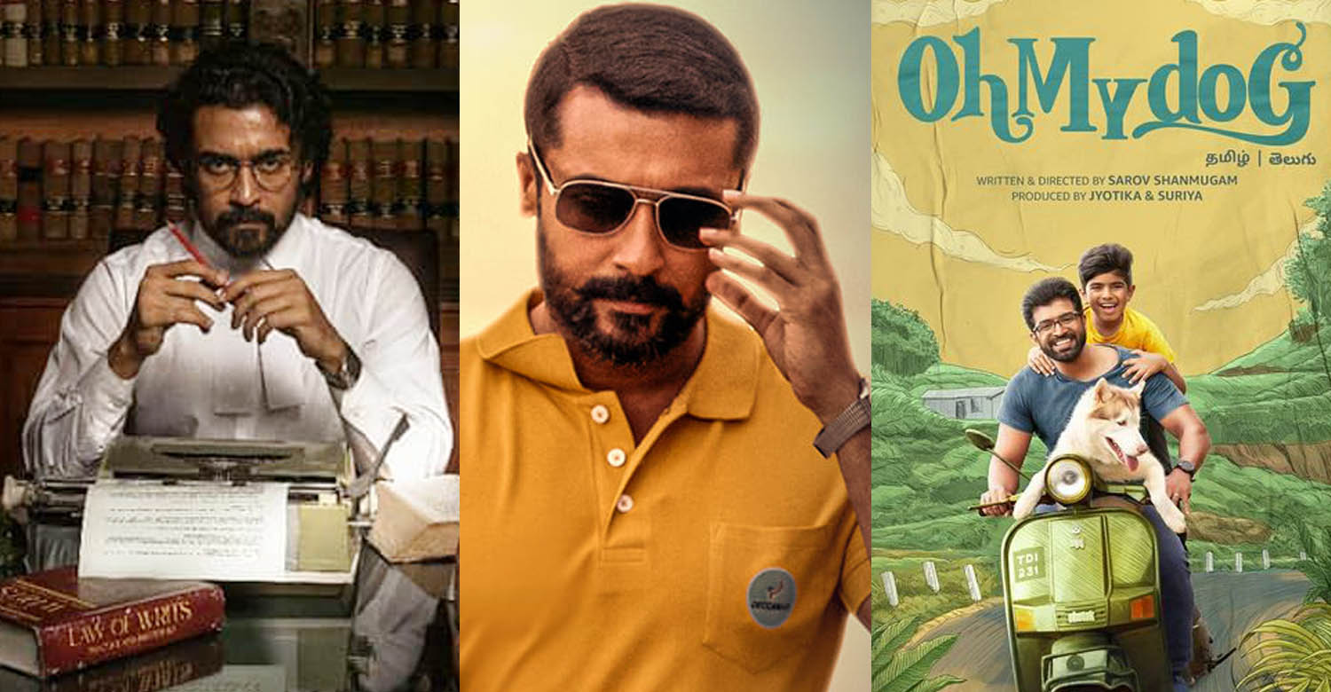suriya produced films released amazon prime,suriya producing upcoming films,actor suriya latest news,2d entertainment new film